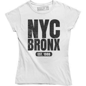 Nyc Bronx Est. 1988 Printed New York City T-shirt